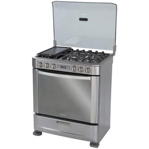 Cocina a gas Ingenious 76cm Inox Mabe